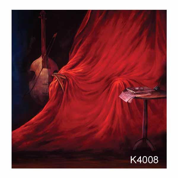 Рисуван фон K4008