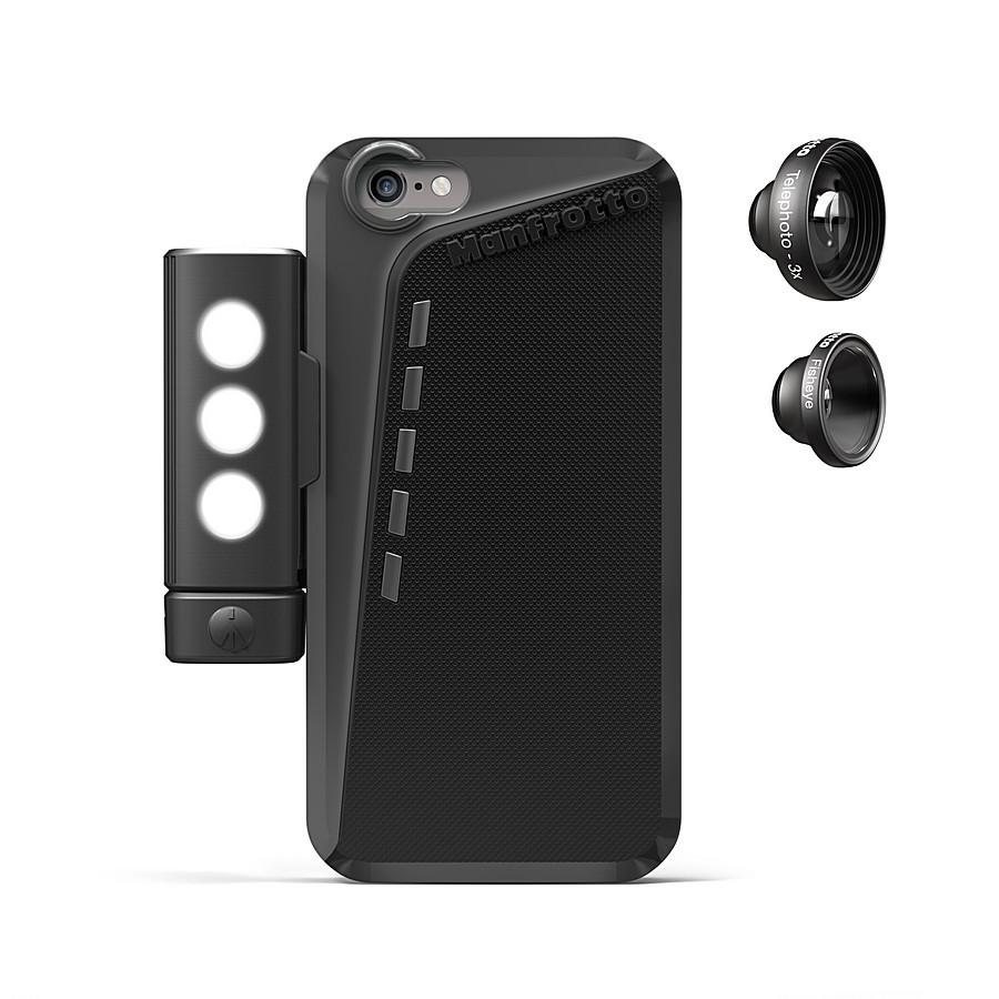 Manfrotto KLYP+ протектор за iPhone® 6 + SMT LED панел+ 2 обектива
