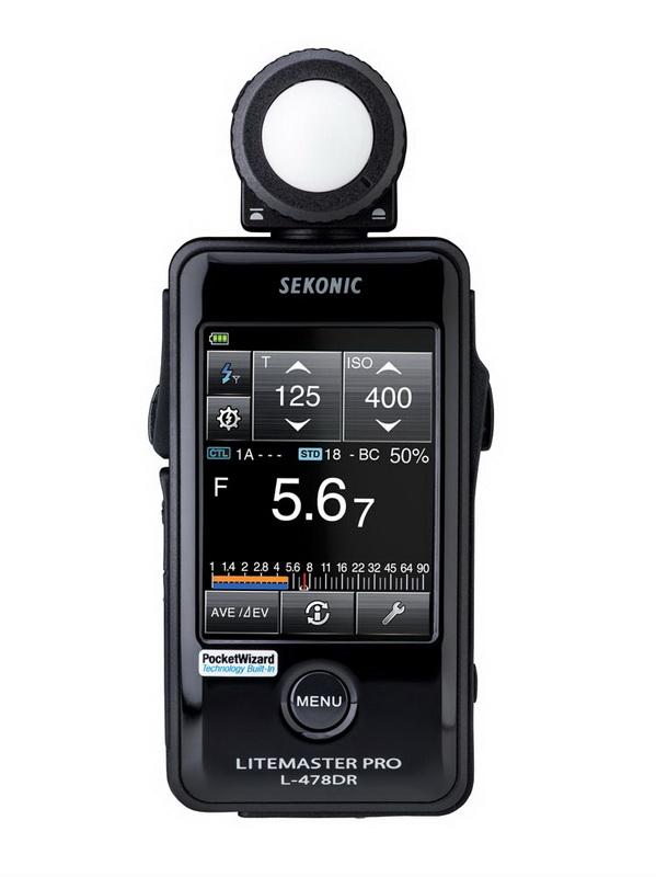Sekonic Litemaster Pro L-478DR PocketWizard