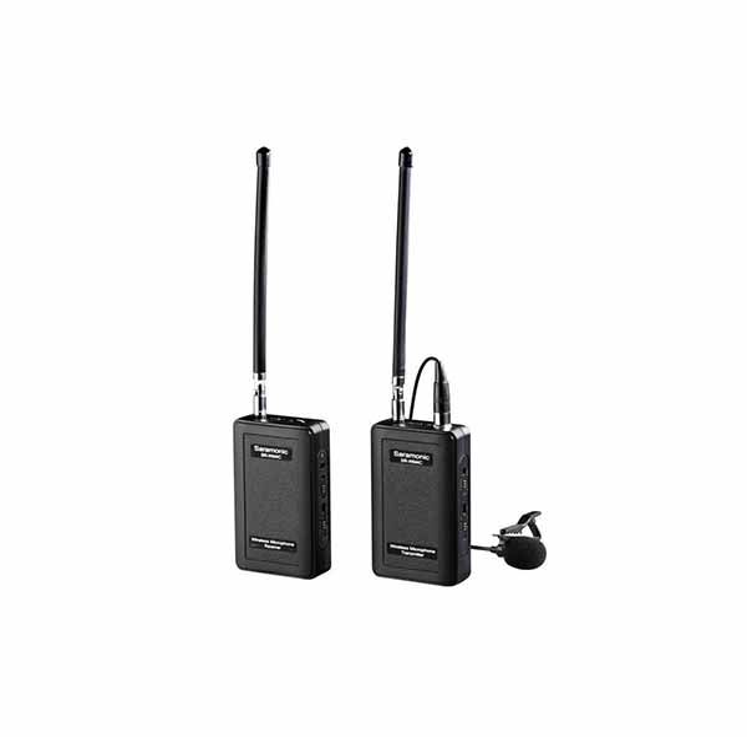 Безжичен VHF микрофон брошка Saramonic SR-WM4C - Комплект