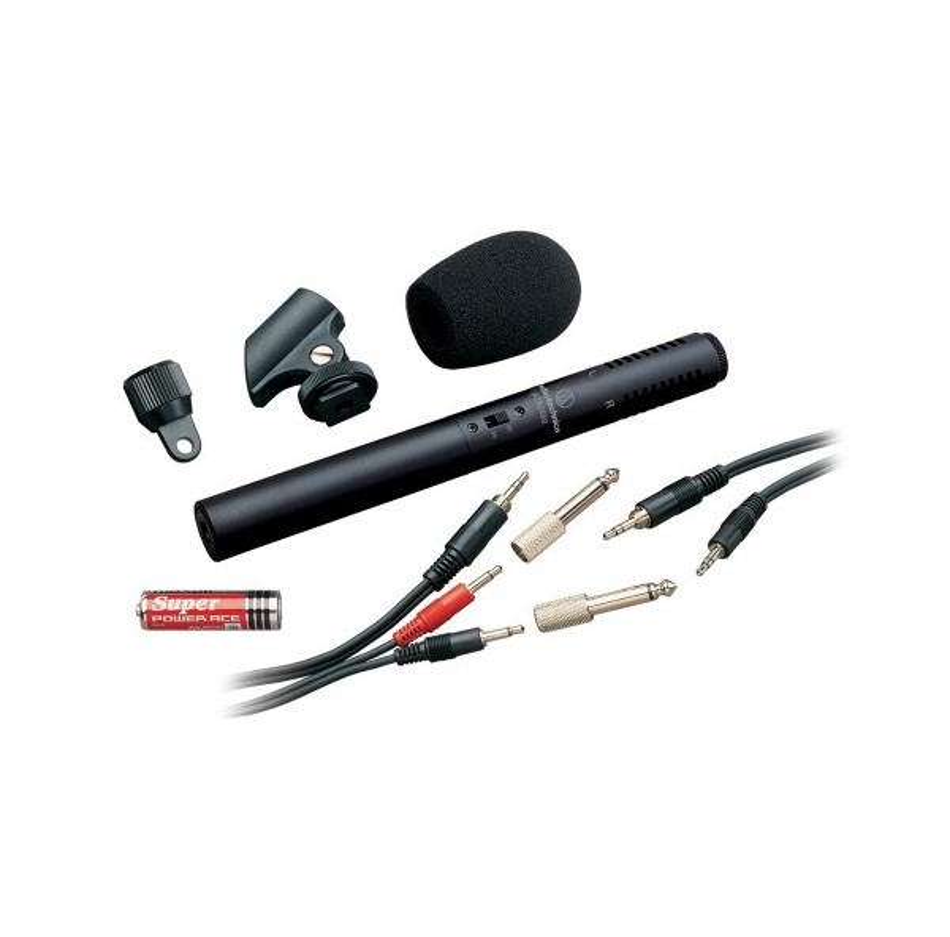 Кондензаторен стерео микрофон Audio-Technica ATR6250 за монтаж на камера
