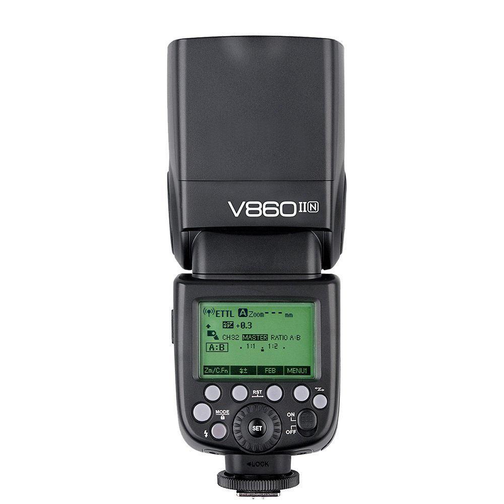 Втора употреба Светкавица Godox Ving V860IIN Nikon TTL, Godox 2.4G wireless X system