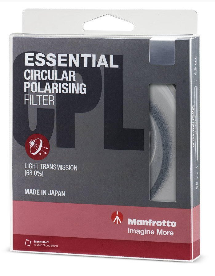 Филтър Manfrotto Essential Circular Polarising 52mm