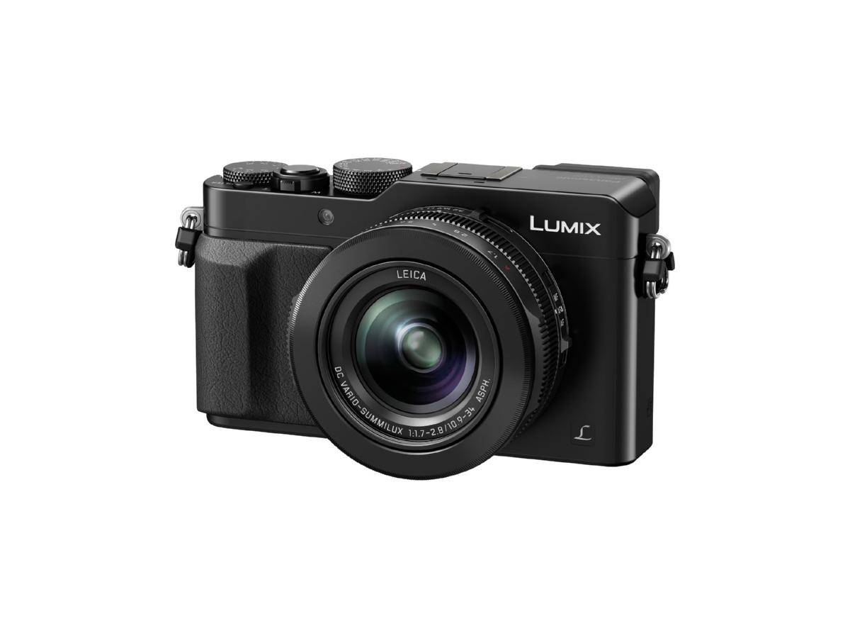 Фотокамера Panasonic Lumix DMC-LX100 - Черен с подарък министатив Manfrotto Pixi