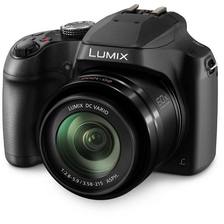 Фотокамера Panasonic Lumix DMC-FZ82 с обектив 20-1200mm F2.8–5.9 с подарък карта Sandisk 16gb