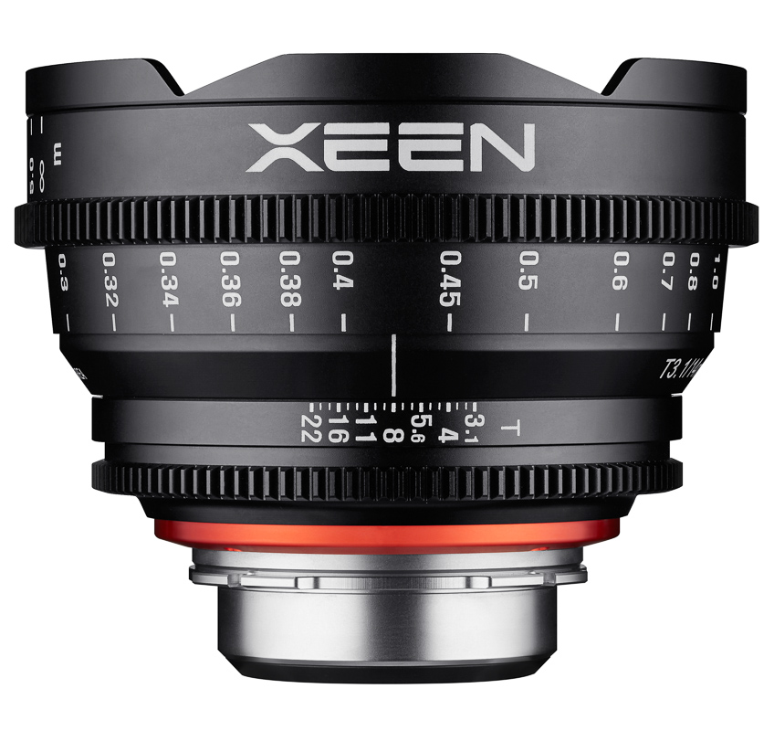 Кино обектив XEEN 14mm T3.1 за Canon EF