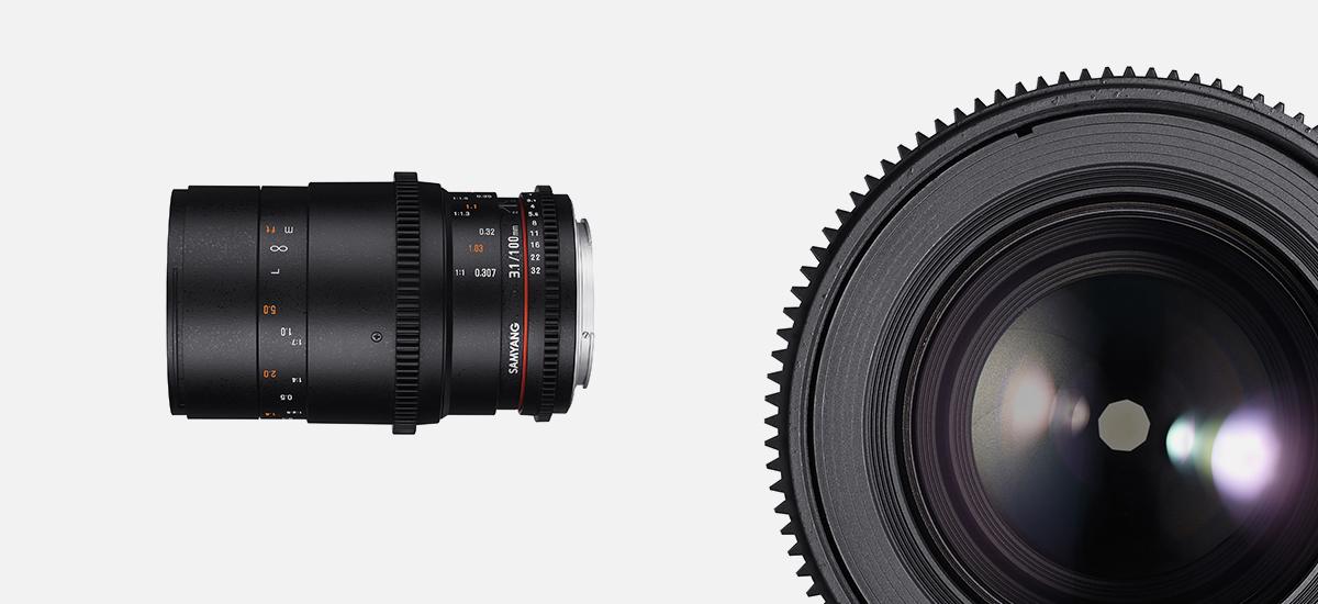 Обектив Samyang 100mm T3.1 VDSLR ED UMC Macro за Canon