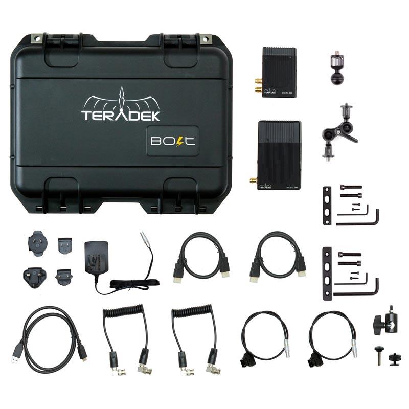 TERADEK BOLT Pro 500 HD-SDI / HDMI Wireless Video TX / RX Deluxe Kit - Комплект безжичен видео предавател и приемник