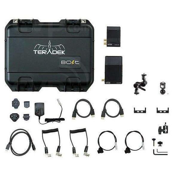 BOLT 500 DELUXE комплект SDI | HDMI 2 X RX безжичен видео предавател и приемник