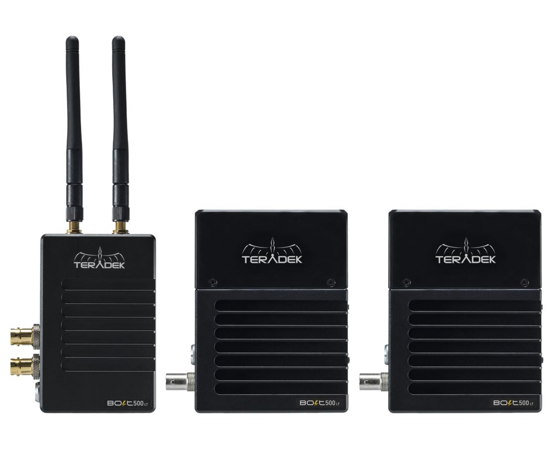 TERADEK BOLT 500 LT Wireless 3G-SDI Transmitter / 2x Receiver Set - безжичен видео предавател и приемник