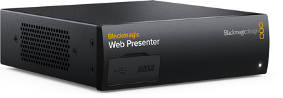 Blackmagic Web Presenter - конвертор на видео сигнал към USB(web cam)