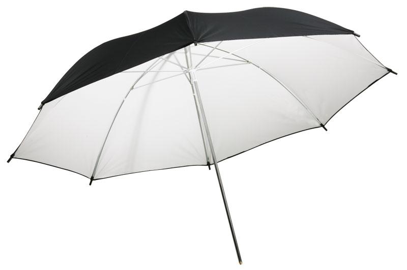 Бял отражателен чадър 105 см