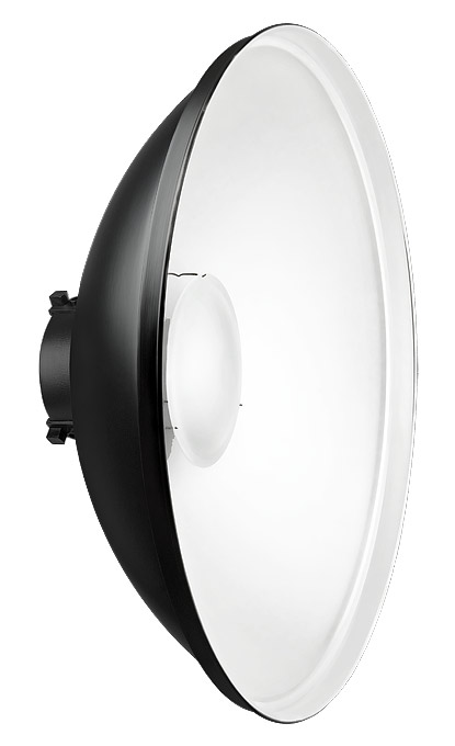 50 см рефлектор с бяла повърхност
