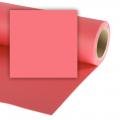Colorama хартиен фон 2.72 x 11 м - Coral Pink