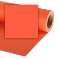Colorama хартиен фон 2.72 x 11 м - Mandarin