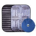Сгъваем фон Urban Collapsible 1.5x2.1m Shutter/Distressed Door