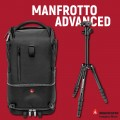 Manfrotto Advanced Tri Backpack medium and tripod Manfrotto Element Small