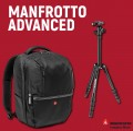 Комплект Manfrotto Advanced Gear Large и статив Manfrotto Elements Small