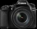 Фотоапарат Canon EOS 80D тяло + Обектив EFs 18-135mm IS Nano USM