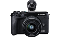 Фотоапарат Canon EOS M6 Mark II+Обектив EFm 15-45mm F3.5-6.3 IS STM+визьор EVF+DR-E+CA-PS700+17+Joby GorillaPod 1K