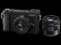 Фотокамера Panasonic Lumix DC-GX9 с 2 обектива -  12-32mm f3.5-5.6 MEGA O.I.S и 35-100mm f4-5.6 Mega OIS