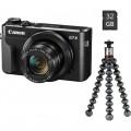 Фотоапарат Canon Powershot G7x Mark II+Vlogger Kit+батерия NB-13L