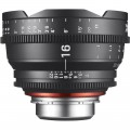 Кино обектив XEEN 16mm T2.6 за Canon EF