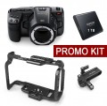 KIT - Blackmagic Pocket Cinema Camera 6K EF байонет - компактна дигитална камера, комплект с аксесоари