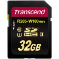 SD карта памет - Transcend 32GB SDXC/SDHC Class3 UHS-II Card (R285, W180 MB/s)
