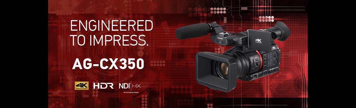 Panasonic AG-CX350 Pre-order с 10% намаление